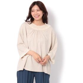 【サマンサモスモス/Samansa Mos2】 衿パーツレースカットソー