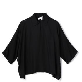 COL PIERROT FOR ESTNATION / スキッパーブラウス ブラック/38(エストネーション)◆レディース シャツ/ブラウス