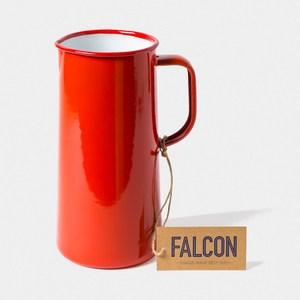 Falcon 獵鷹琺瑯 琺瑯3品脫冷水壺 1.7L 紅白