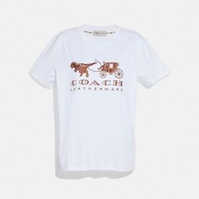 [マルイ]【セール】【コーチ】 レキシー アンド キャリッジ Tシャツ/コーチ(COACH)