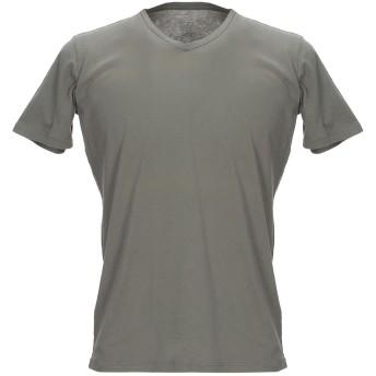 《セール開催中》MAJESTIC FILATURES メンズ T シャツ ミリタリーグリーン S コットン 100%
