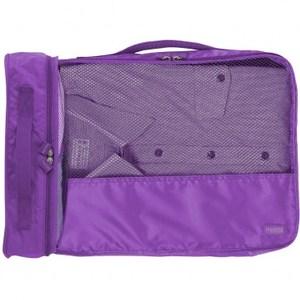 Lapoche 旅行衣物整理包(大)-紫色