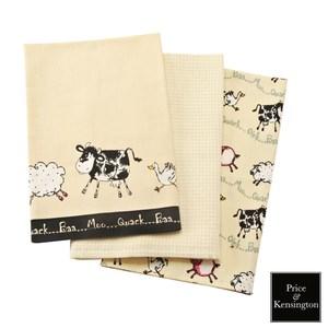 【P&K】農場系列桌巾3件組