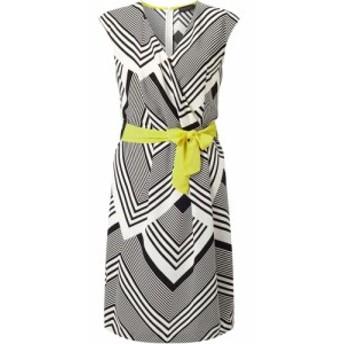 ジュームズ レイクランド James Lakeland レディース ワンピース ワンピース・ドレス Chevron Stripe Dress White