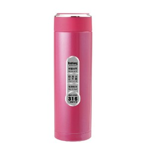 Dashiang 316不鏽鋼450ML真水概念保溫杯-粉紅