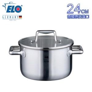 【德國ELO】Multilayer 不鏽鋼雙耳高身湯鍋(24CM)