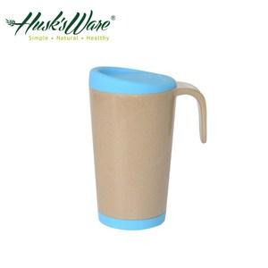 美國Husk's ware 稻殼天然無毒環保創意馬克杯(綠松石藍)