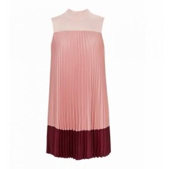 テッドベーカー Ted Baker レディース ワンピース ワンピース・ドレス Ombraya OmbrA Pleated High Neck Dress Red