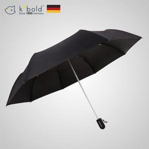 【德國kobold酷波德】抗UV粉紅女王系列-矽膠蜂巢-遮陽防曬三折傘-神秘黑