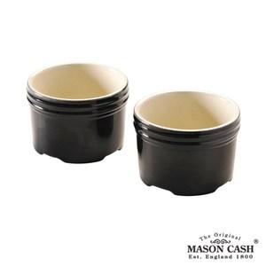 【MASON】PERFECT BLACK系列陶瓷布丁杯2入組(黑)