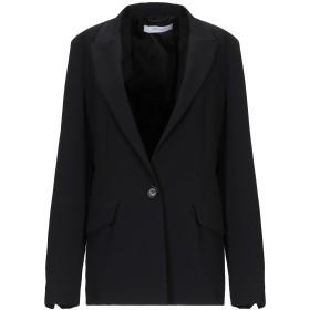 《期間限定セール開催中!》I BLUES レディース テーラードジャケット ブラック 40 ポリエステル 100%