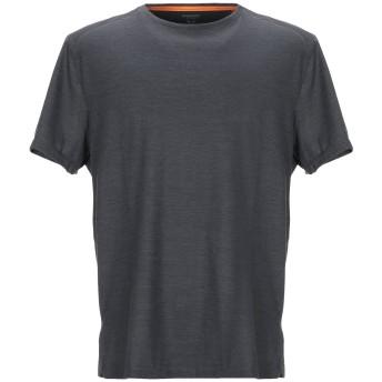 《セール開催中》MAMMUT メンズ T シャツ 鉛色 L ポリエステル 64% / ウール 36%