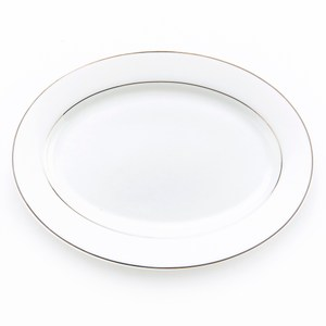 HOLA 緻銀骨瓷魚盤 23cm 線圈