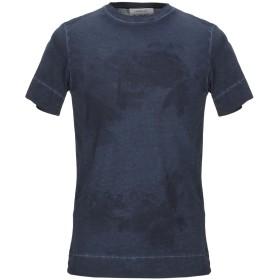 《期間限定セール開催中!》HAMAKI-HO メンズ T シャツ ダークブルー L コットン 100%