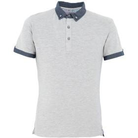 《期間限定 セール開催中》YES ZEE by ESSENZA メンズ ポロシャツ グレー S コットン 95% / ポリウレタン 5%