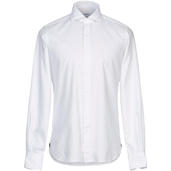 《セール開催中》ORIAN メンズ シャツ ホワイト 44 コットン