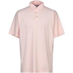 《期間限定セール開催中!》FEDELI メンズ ポロシャツ ライトピンク 56 コットン 100%