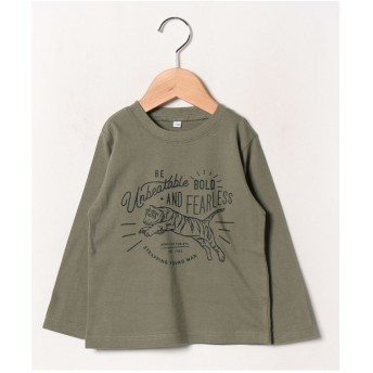 b-ROOM 【WEB限定】アソート長袖Tシャツ(ライトカーキ)【返品不可商品】