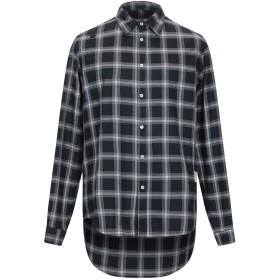 《期間限定セール開催中!》THE EDITOR メンズ シャツ ブラック 39 コットン 100%