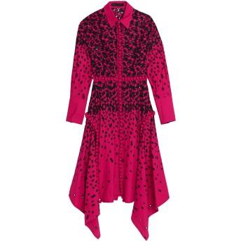 《期間限定セール開催中!》PROENZA SCHOULER レディース 7分丈ワンピース・ドレス フューシャ 10 コットン 100%