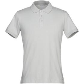 《期間限定セール開催中!》SSEINSE メンズ ポロシャツ グレー M コットン 95% / ポリウレタン 5%