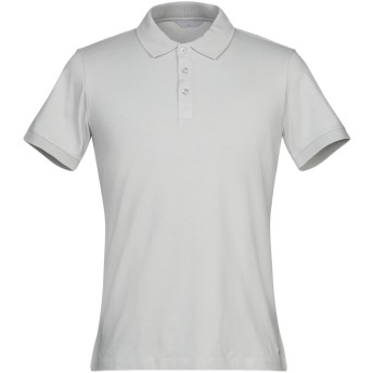 《セール開催中》SSEINSE メンズ ポロシャツ グレー M コットン 95% / ポリウレタン 5%