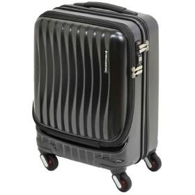 [フリクエンター] スーツケース クラムアドバンス 機内持込可 23L 41cm 3.1kg 1-217 ブラック
