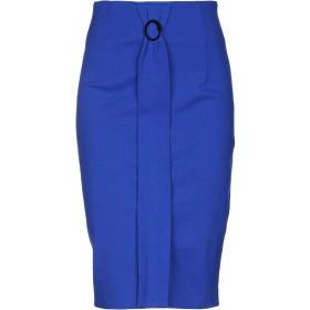 《期間限定セール開催中!》CAVALLI CLASS レディース 7分丈スカート ブルー 40 レーヨン 69% / ナイロン 25% / ポリウレタン 6%