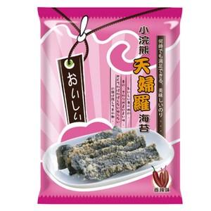 【小浣熊】天婦羅海苔40gX12入(香辣味12包)