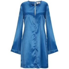 《期間限定セール開催中!》VICOLO レディース ミニワンピース&ドレス ブルー S ポリエステル 100%