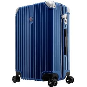 マーベル キャプテンアメリカ スーツケース Mサイズ ジッパーライト キャリーバッグ キャリーケース MARVEL CAPTAINAMERICA BLUE ブルー 青 4~7日 1週間 軽量 DESENO ブランド マーベルグッズ ジッパータイプ TSAロック OKOBAN キャラクター アメコミ
