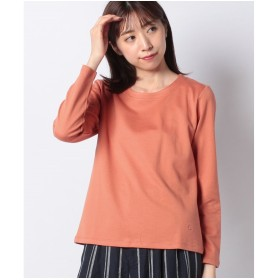 DECOY Since1981 発熱綿ジャカードTシャツ(オレンジ)【返品不可商品】