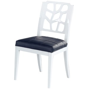 【YFS】柏莎白色餐椅-46x46x89cm