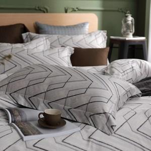 【HOYACASA】尼斯雙人四件式頂級500織匹馬棉被套床包組