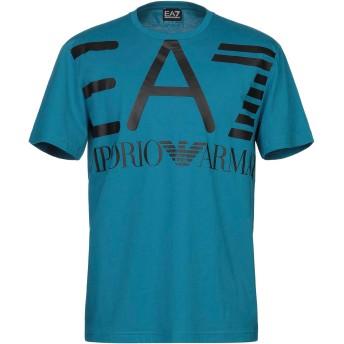 《期間限定セール開催中!》EA7 メンズ T シャツ ディープジェード XXL コットン 100%