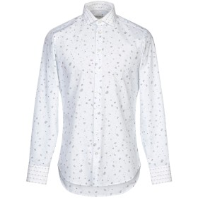 《期間限定セール開催中!》ETRO メンズ シャツ ライトグレー 39 コットン 100%