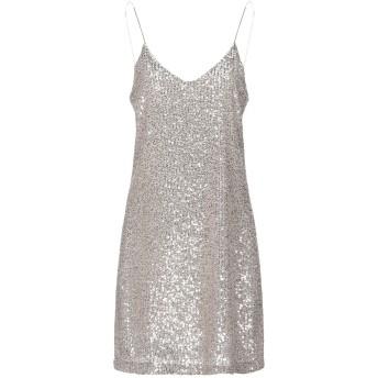 《セール開催中》BERNA レディース ミニワンピース&ドレス ベージュ S ポリエステル 100% / レーヨン / ポリウレタン