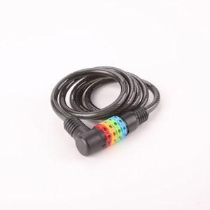 彩色自行車變號鎖索鎖 8mm 4尺