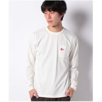 ikka Healthknit Product ロングスリーブTシャツ(ホワイト)
