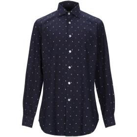 《期間限定 セール開催中》RODA メンズ シャツ ダークブルー 40 コットン 100%