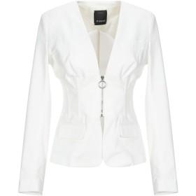 《9/20まで! 限定セール開催中》PINKO レディース テーラードジャケット ホワイト 40 コットン 95% / ポリウレタン 5%