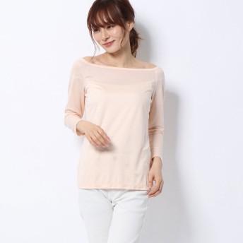 リネーム Rename オフショルダーTシャツ (ライトピンク)