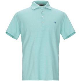 《期間限定セール開催中!》BROOKSFIELD メンズ ポロシャツ ライトグリーン 50 コットン 100%
