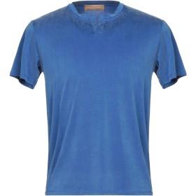 《期間限定セール開催中!》DANIELE FIESOLI メンズ T シャツ ブルー S キュプラ 92% / ポリウレタン 8%