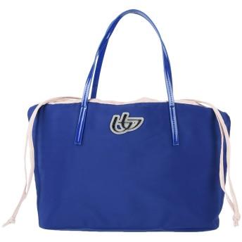 《セール開催中》BLU BYBLOS レディース ハンドバッグ ブライトブルー 紡績繊維