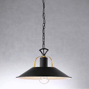 HONEY COMB 粗獷感工業風羅克單吊燈 黑色 TA7485R