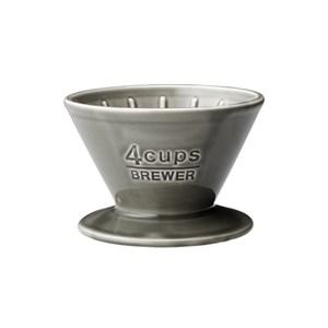 KINTO SCS陶瓷濾杯4杯 灰