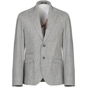 《期間限定セール開催中!》OFFICINA 36 メンズ テーラードジャケット ブラック 48 ポリエステル 65% / コットン 35%