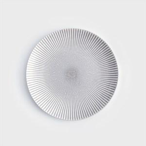 WAGA 日式 光束旋紋28cm陶瓷圓盤
