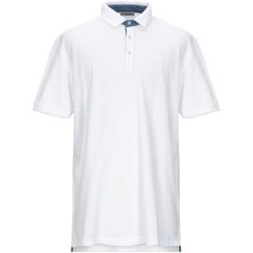 《セール開催中》GRAN SASSO メンズ ポロシャツ ホワイト 58 コットン 100%